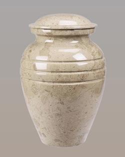 Cream Wash urn